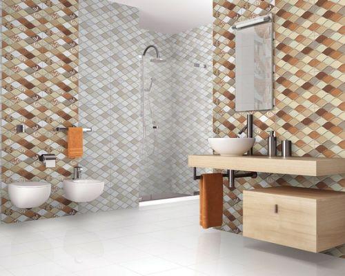 Отделка ванной комнаты плиткой: советы по выбору облицовочного материала