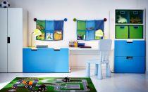 Мебель ИКЕА для детской комнаты. Фото интерьеров