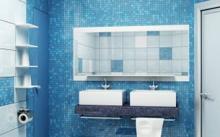 Дизайн ванной комнаты в синем цвете, как применить цвет, с чем со читать. Конструктивные и полезные советы.