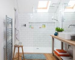 Обустройство ванной комнаты 2,2 кв.м, как сделать площадь максимально полезной, фото идей