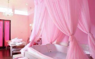 Дизайн ванной комнаты в розовых тонах, 20+ идеи романтической ванной