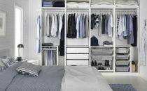 Гардеробные системы ИКЕА: фото-обзор систем и шкафов для гардеробной