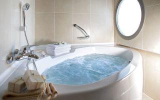 Дизайн ванной комнаты с джакузи, фото вариантов размещения и планировки санузла.