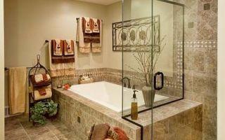 Дизайн ванной комнаты в бежевом тоне, 30 идей для воплощения