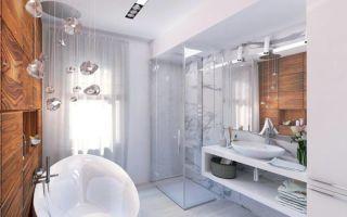 Дизайн ванной комнаты 7 кв.м