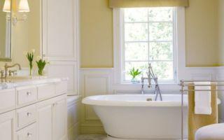 Желтая (золотая) ванная комната, все для того чтоб привнести роскошь в вашу ванную
