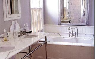 Дизайн ванной комнаты в сиреневом тоне, 20+ вариантов для вдохновения