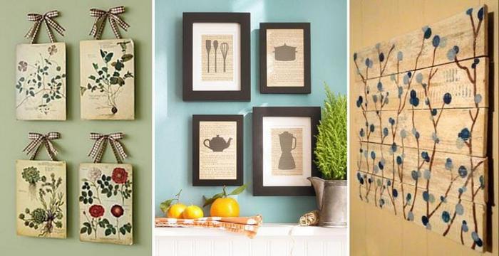 Картина панно на кухню своими руками