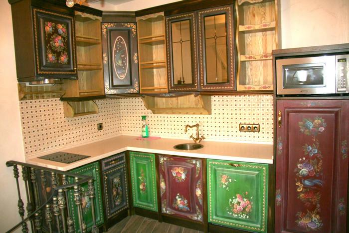 Как украсить фасады кухни фото