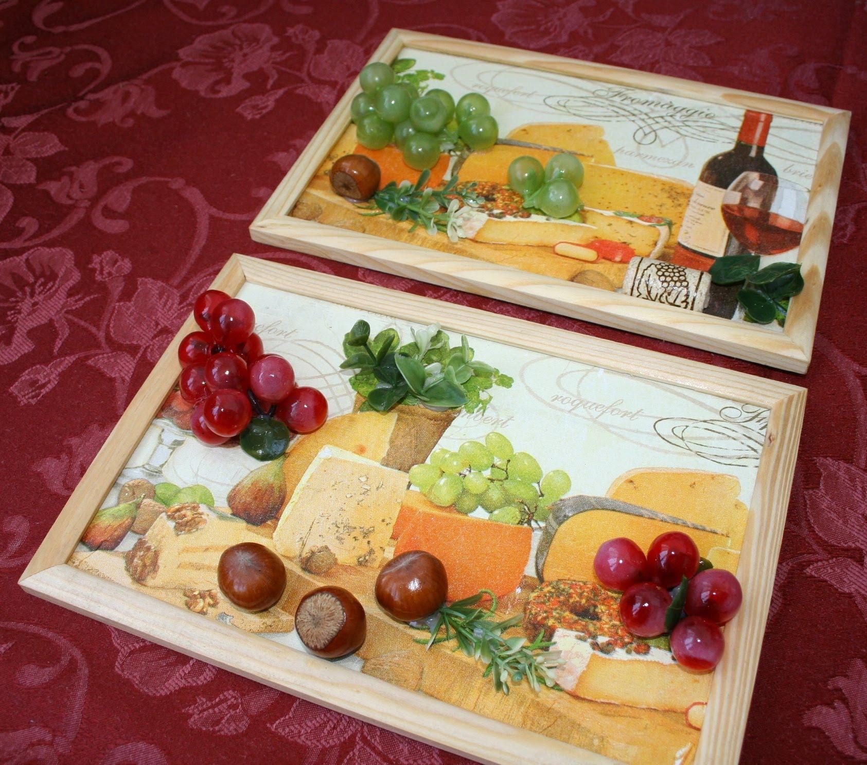 Как сделать картину для кухни своими руками фото