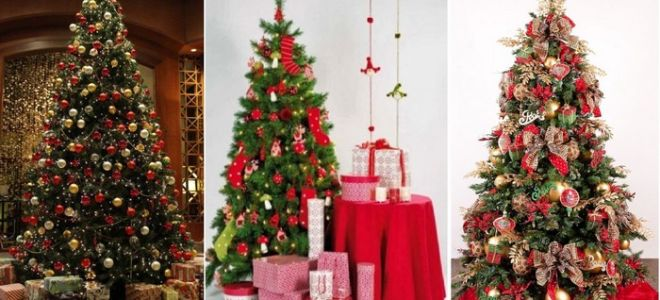 Как украсить елку на Новый год 2018?