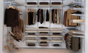 Внутреннее наполнение шкафов купе: примеры, размеры, фото