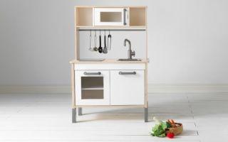 Обзор детской модели кухни Икеа Дуктиг