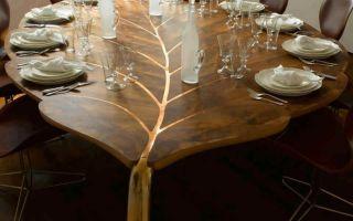 Декор и украшение кухонного стола: идеи и фото