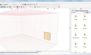 Рисуем 3D проект кухни в PRO100