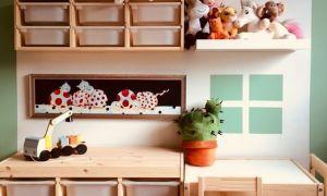 Хранение детских игрушек – варианты от производителя Икеа