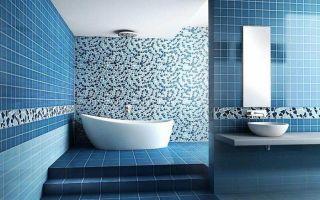 Мозаика в ванной комнате: виды, особенности, фото