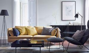 ИКЕА в интерьере гостиной: фото-каталог дизайнов
