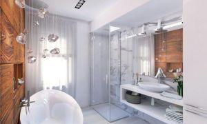 Дизайн ванной комнаты 7 кв.м, примеры размещения и планировки санузла.