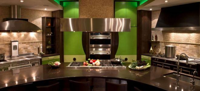 Дизайн кухни 12 кв. м.: идеи и фото