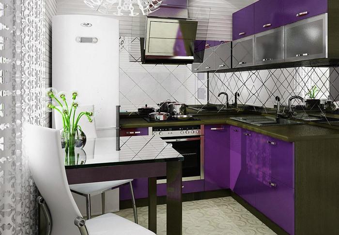 Дизайн маленькой кухни хрущевки