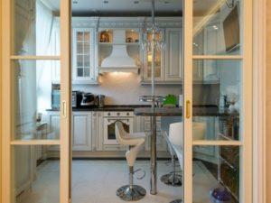 кухня хрущевки - двери