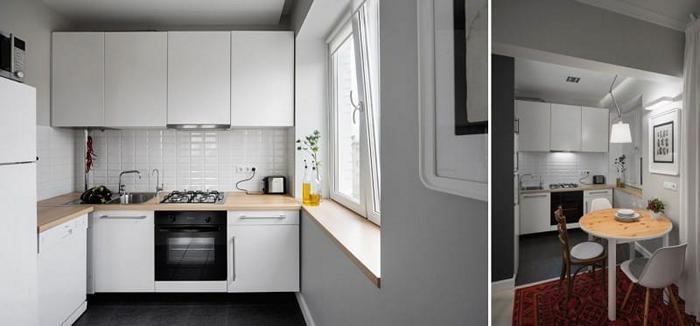 Стиль минимализм для кухни