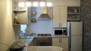 сдержанный дизайн кухни