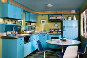 ретро-стиль в оформлении кухни