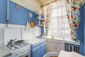 ретро-стиль в оформлении кухни 2