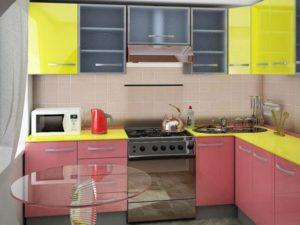 L-планировка маленькой кухни 2