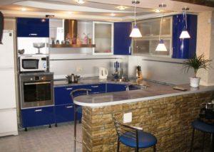 Перенос стены кухни 3