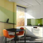 Дизайн кухни студии в хрущевке