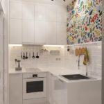 Дизайн малогабаритной кухни (4 кв м)