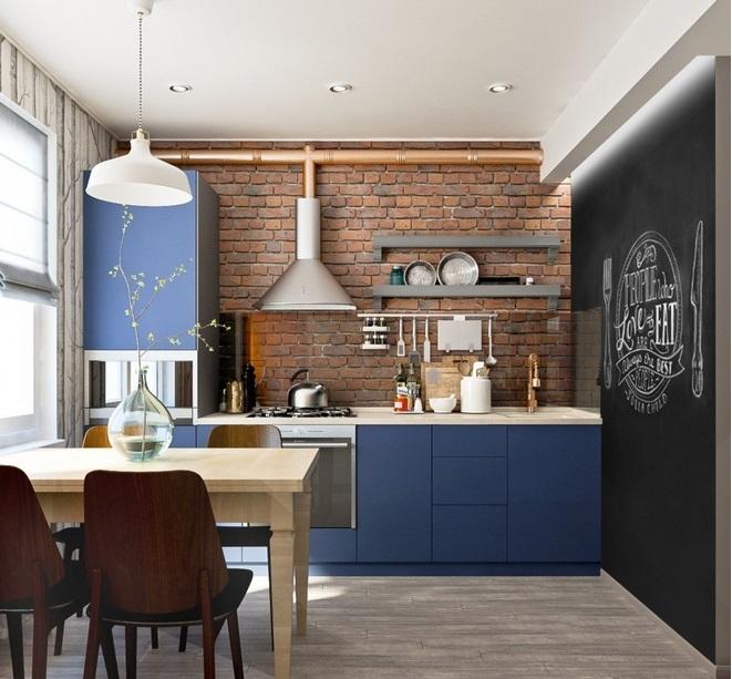 Эксклюзивный дизайн кухни студии