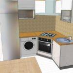 Функциональный дизайн интерьера кухни
