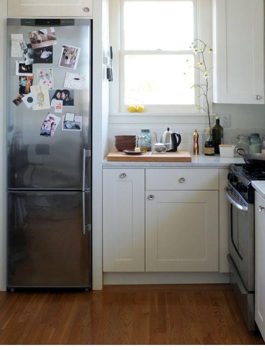 Холодильник на кухне 4 м