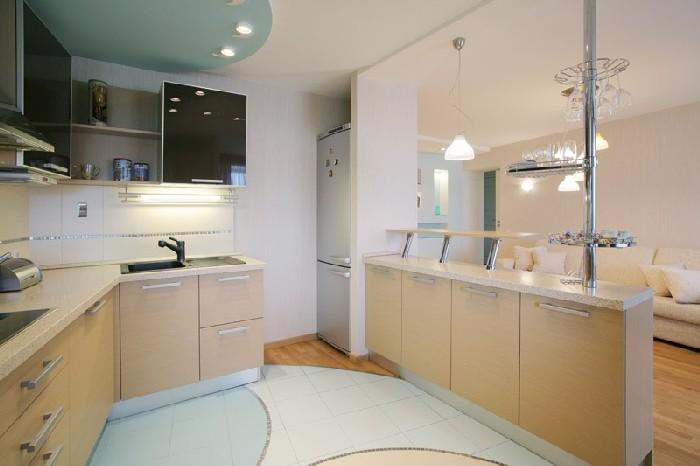 карамельный цвет кухни