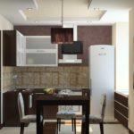 Маленькая кухня 4 м.кв