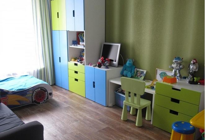 мебель икеа для детской комнаты фото интерьеров