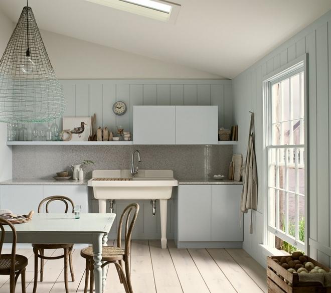 Оформление стен кухни панелями