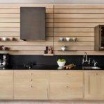 Панели в интерьере кухни