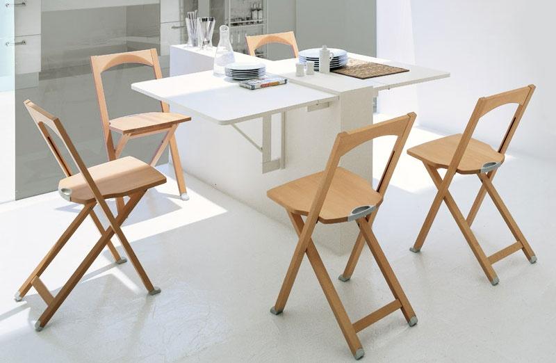 Складная мебель для малогабаритной кухни