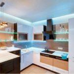 Стальная мебель для маленькой кухни