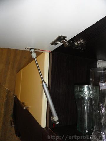 Установка газового амортизатора