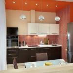 Вариант оформления кухни 4 м