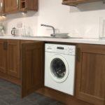 Вариант размещения стиральной машины