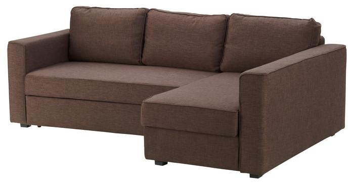 диван коричневый от Икеа