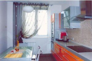 шторы и занавески для кухни