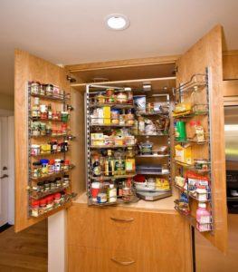 хитрости маленькой кухни органайзеры